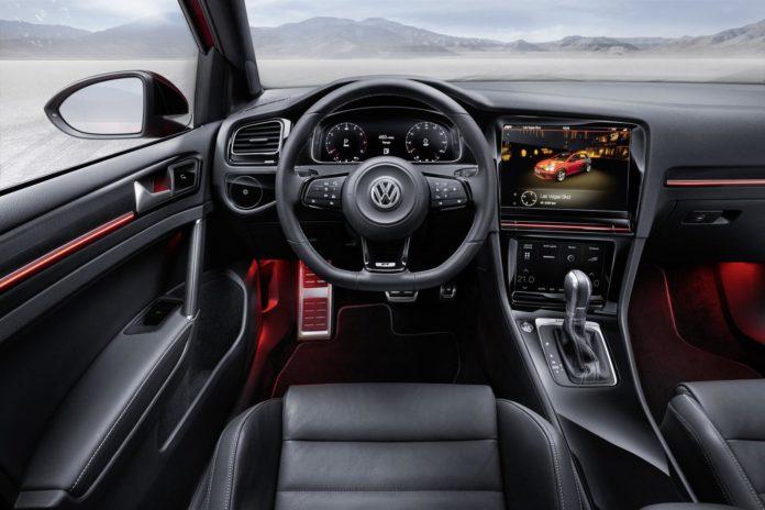 Volkswagen interiér