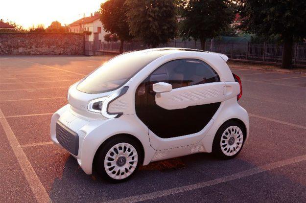 Tisknuté auto prototyp