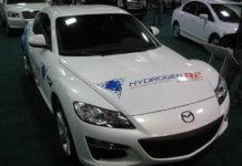 Auto na vodík Mazda