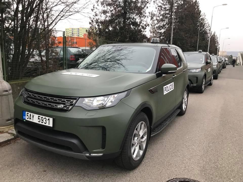 Land Rover Policie ČR