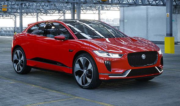 Jaguar Elektromobil