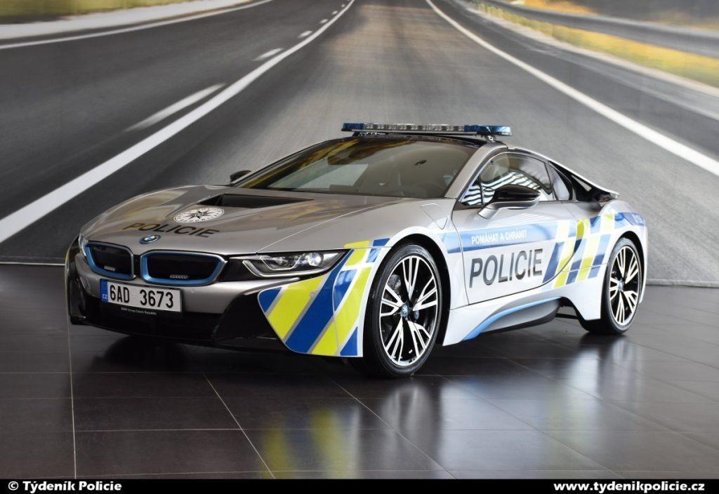BMW policie ČR