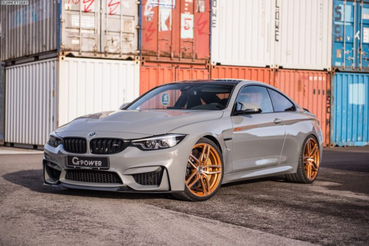 BMW M4 CS G-Power automobil 600 koní