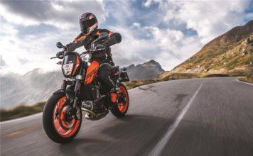Motocykl KTM 690 Duke