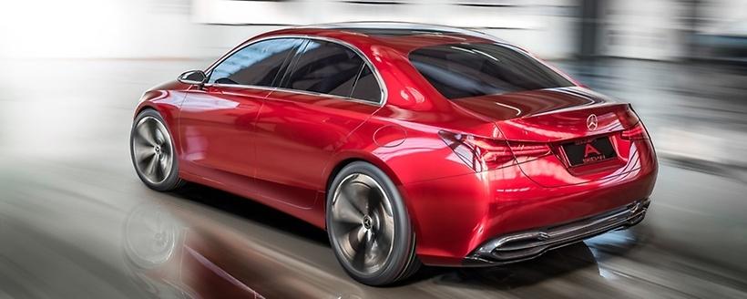mercedes benz třídy A sedan